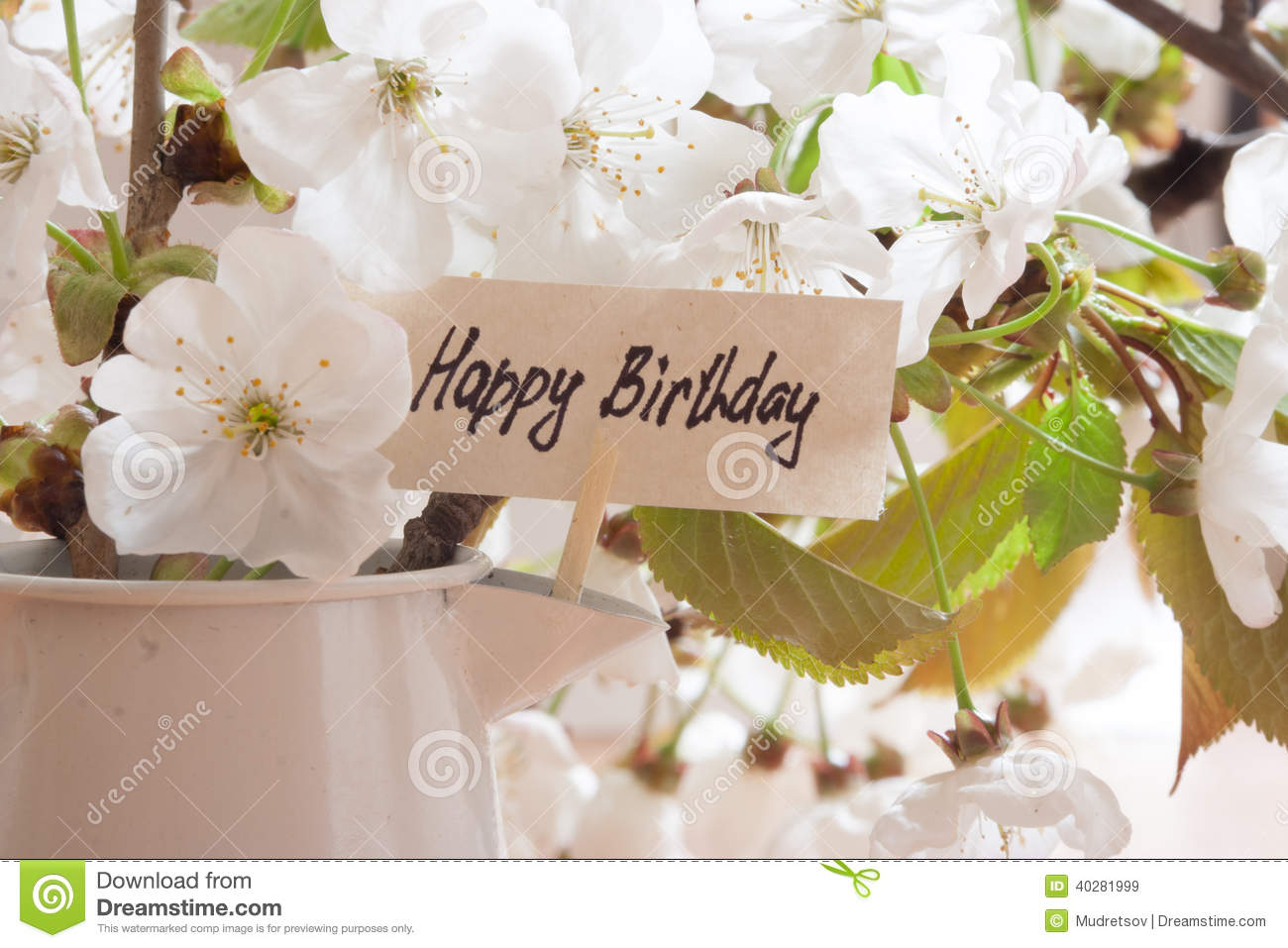 Happy birthday stock image image of birthday text birth 40281999 happy birthday text birth izmirmasajfo Choice Image