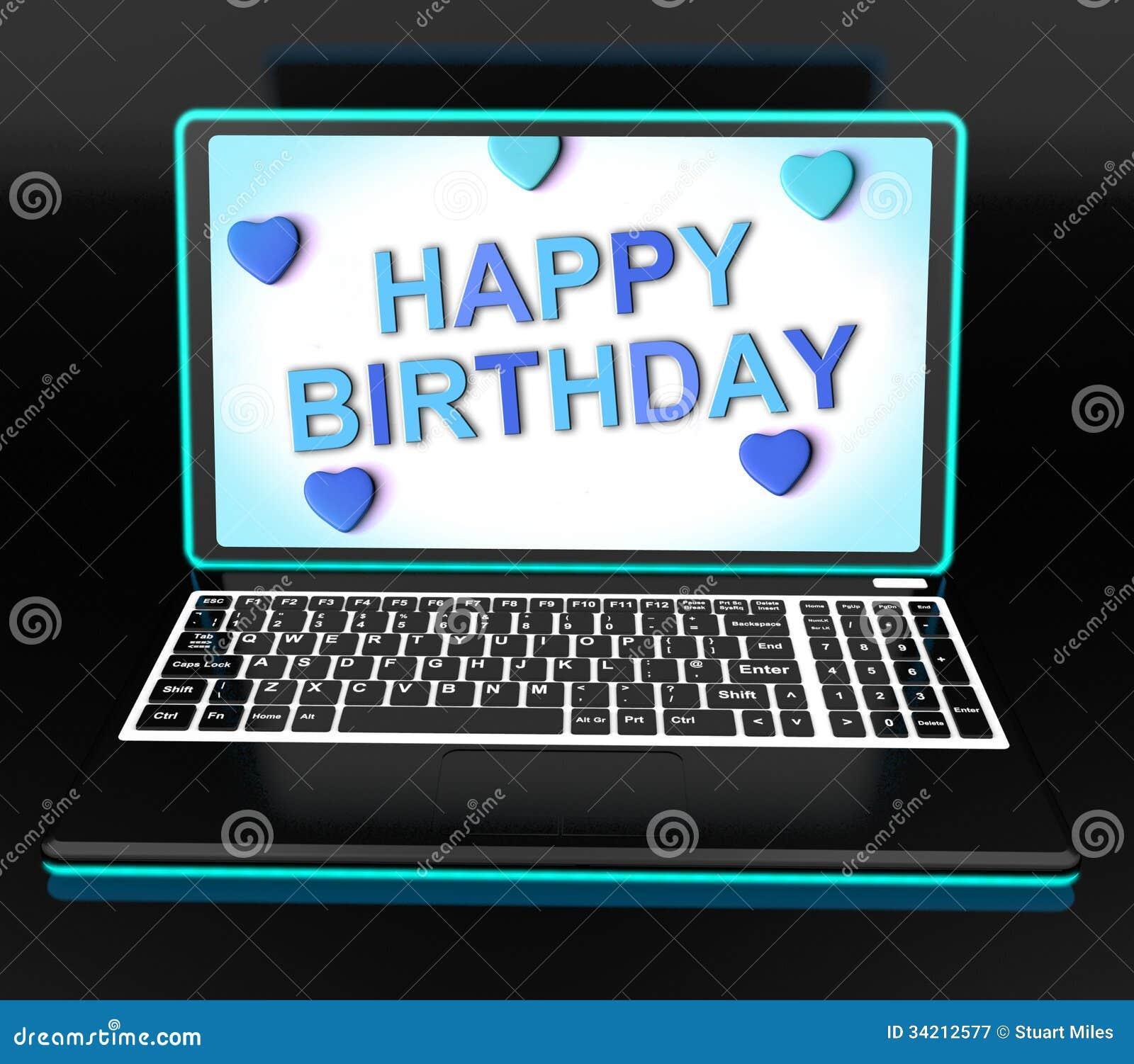 Internet Geburtstag