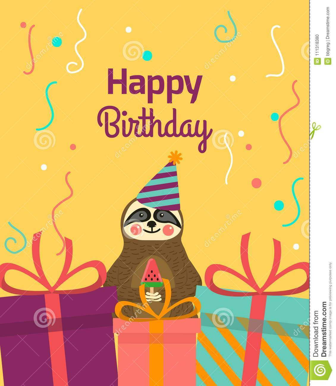 Happy Birthday Greeting Templates Invitation Cards To The Party