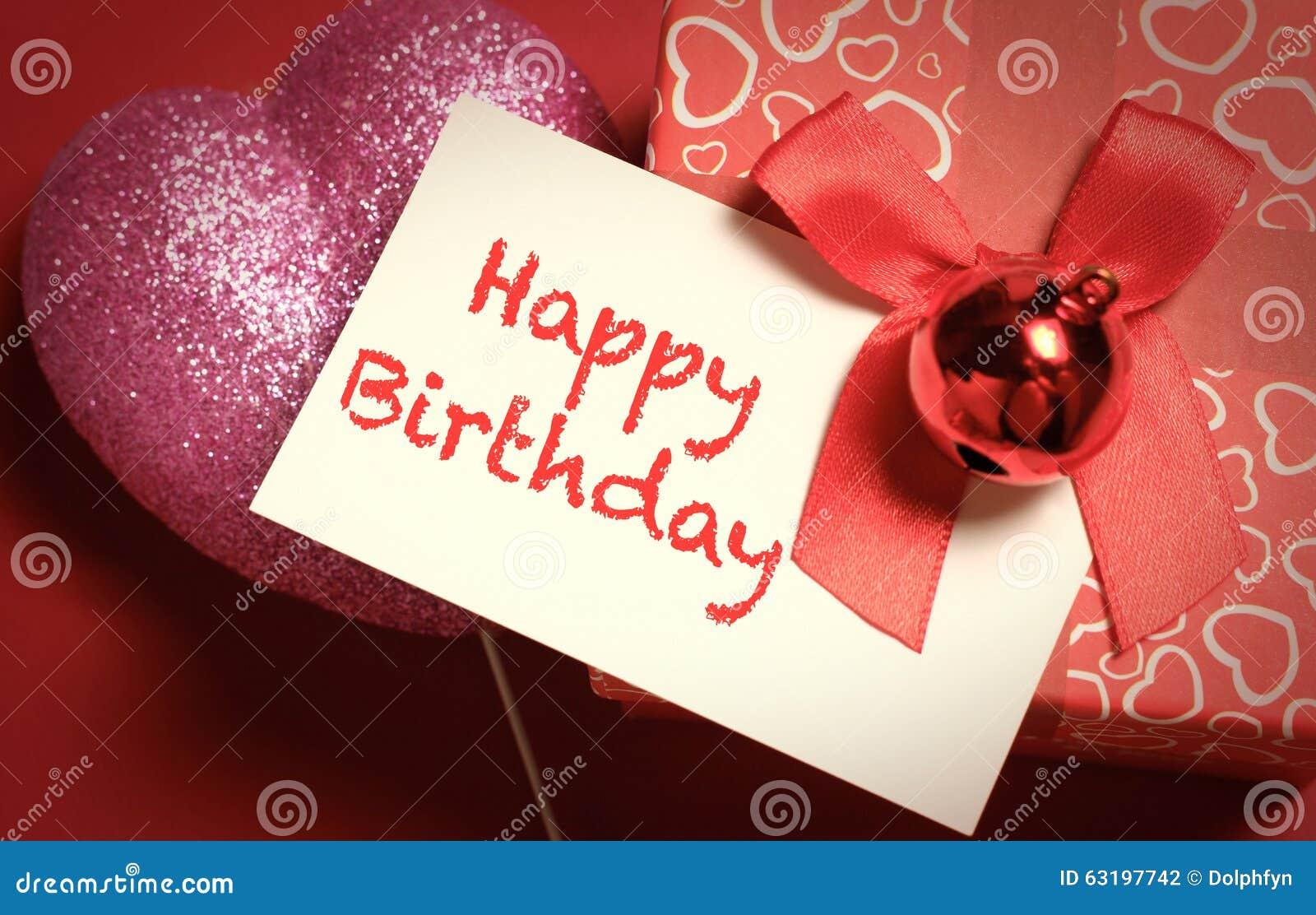Happy birthday stock photo image of present message 63197742 happy birthday kristyandbryce Gallery