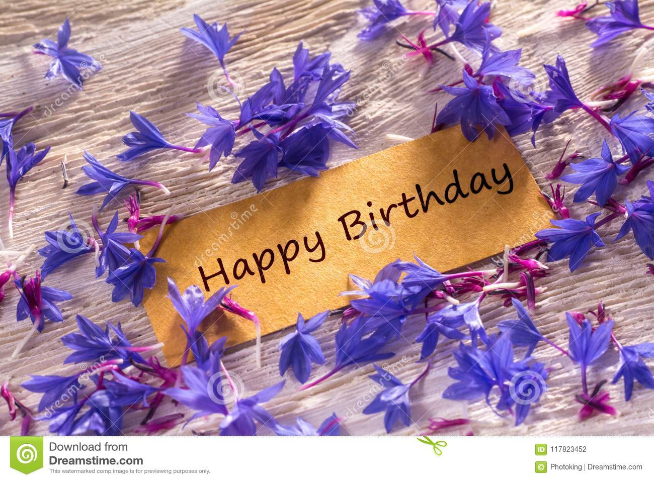 Happy Birthday Stock Photo Image Of Greeting Closeup 117823452