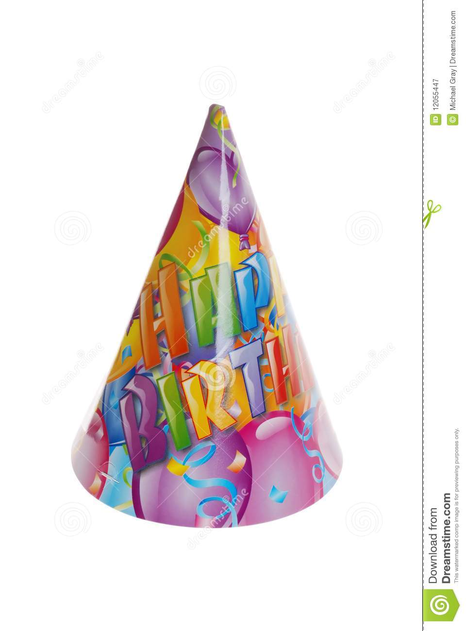 Happy Birthday Hat Royalty Free Stock Photography Image