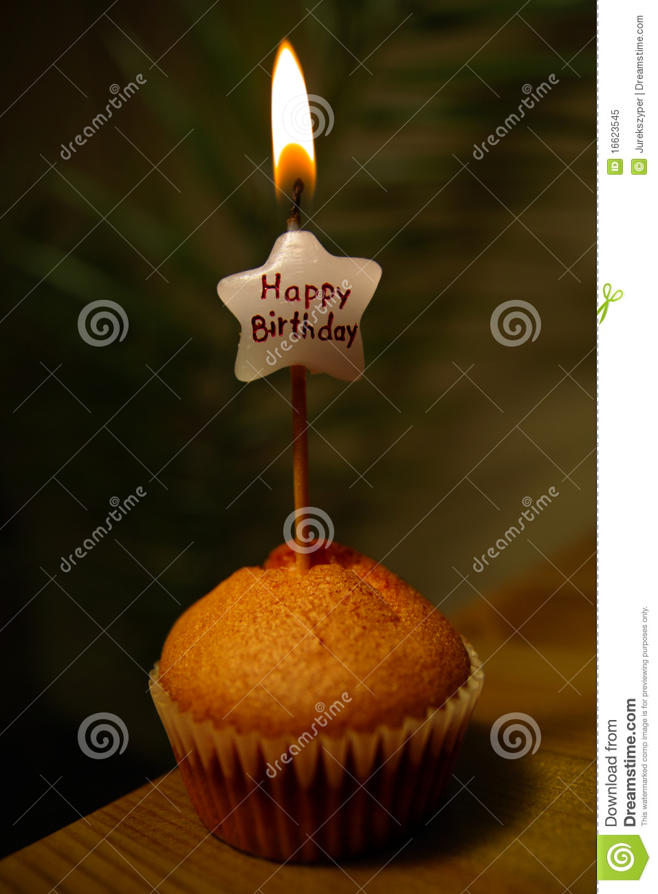 Happy Birthday Muffin Stock Image Image Of Dance Revel