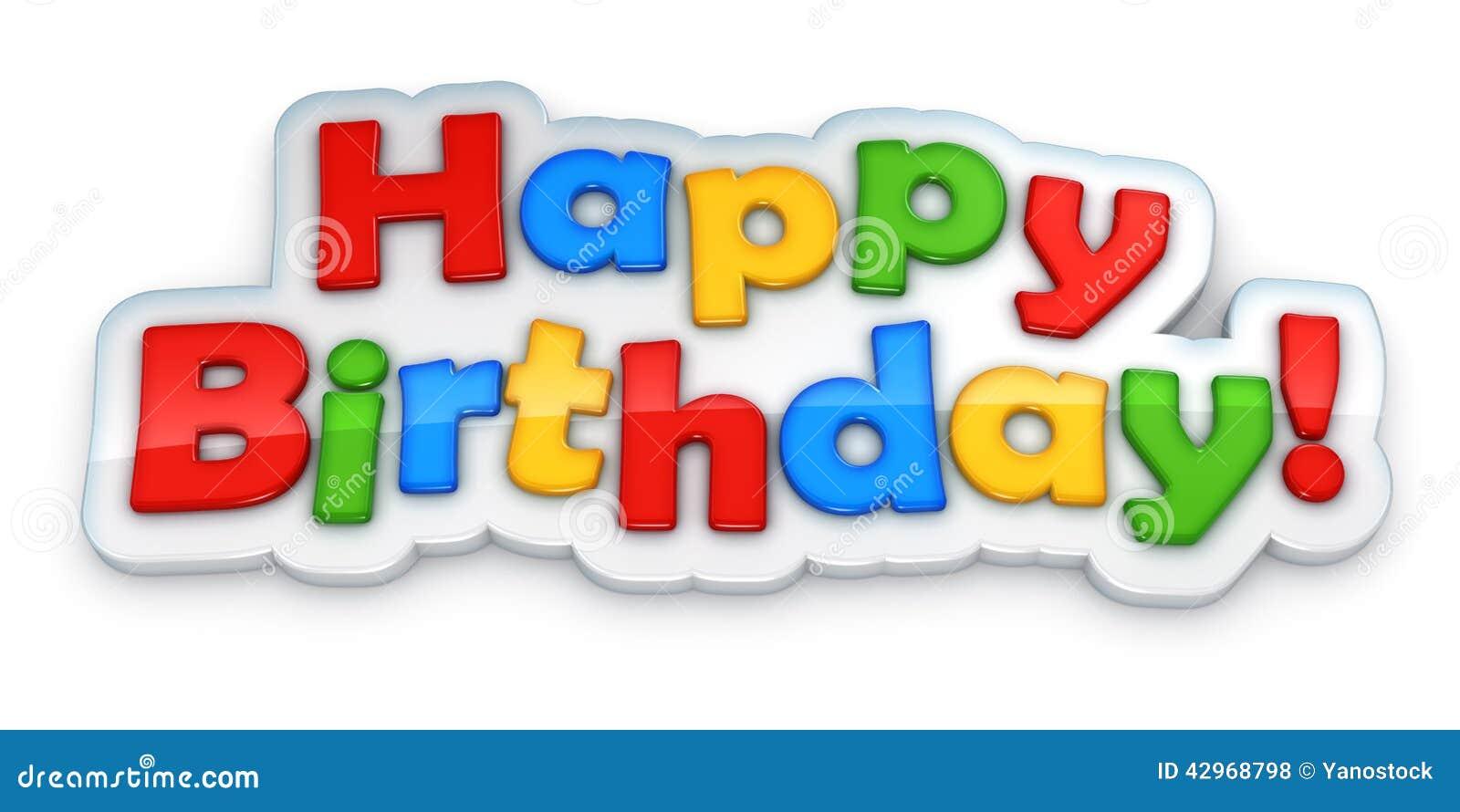 Happy Birthday Cake Toy