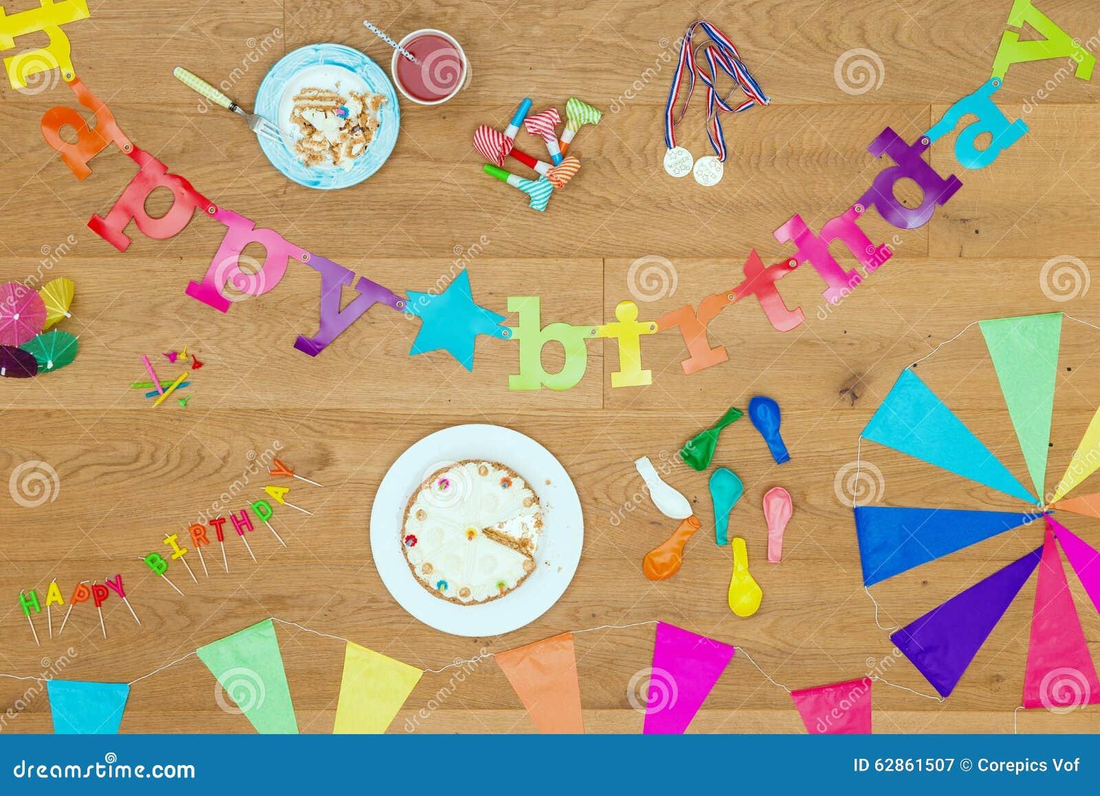 Happy Birthday Party Background Theme