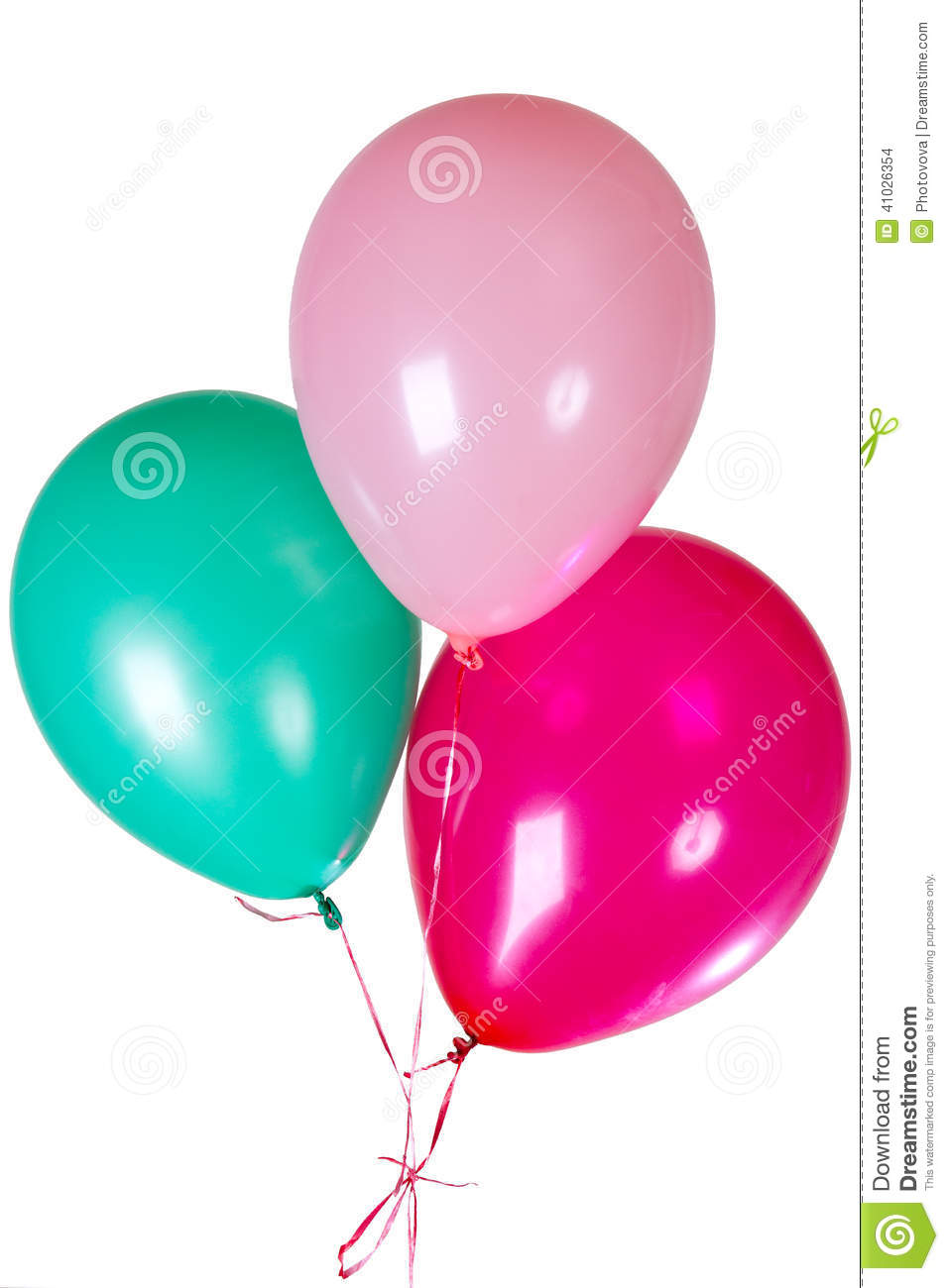 Happy birthday party balloon decoration stock photo for Balloon decoration business