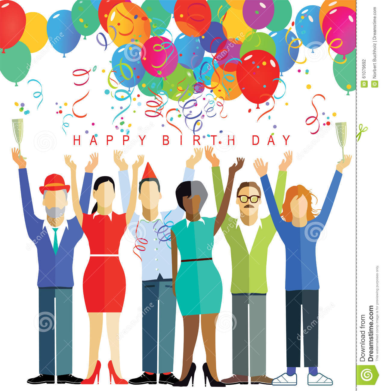 happy birthday party stock photo image 61079692 vector balloons free vector balloons free