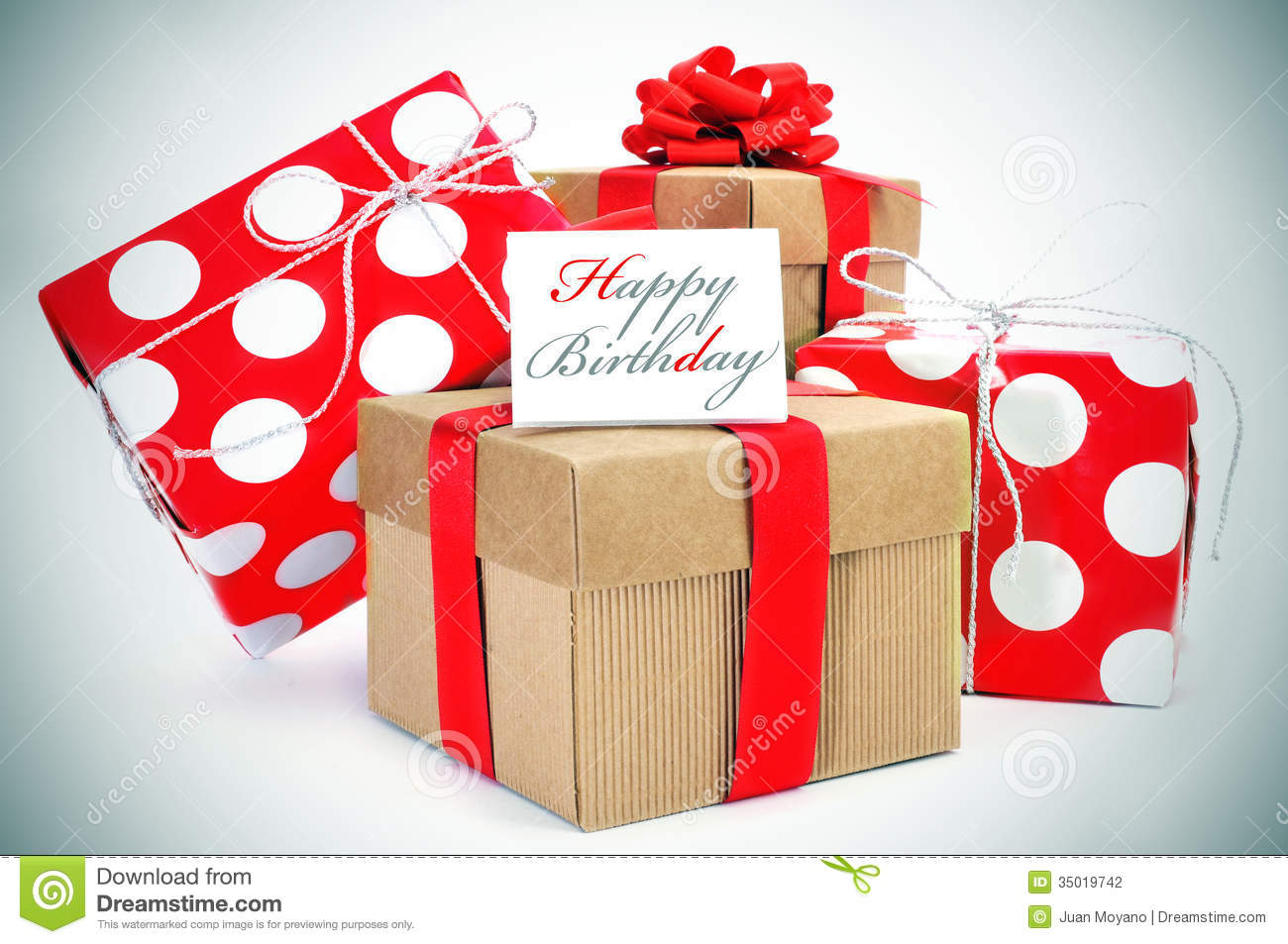 Happy birthday stock photo. Image of package, concept ...
