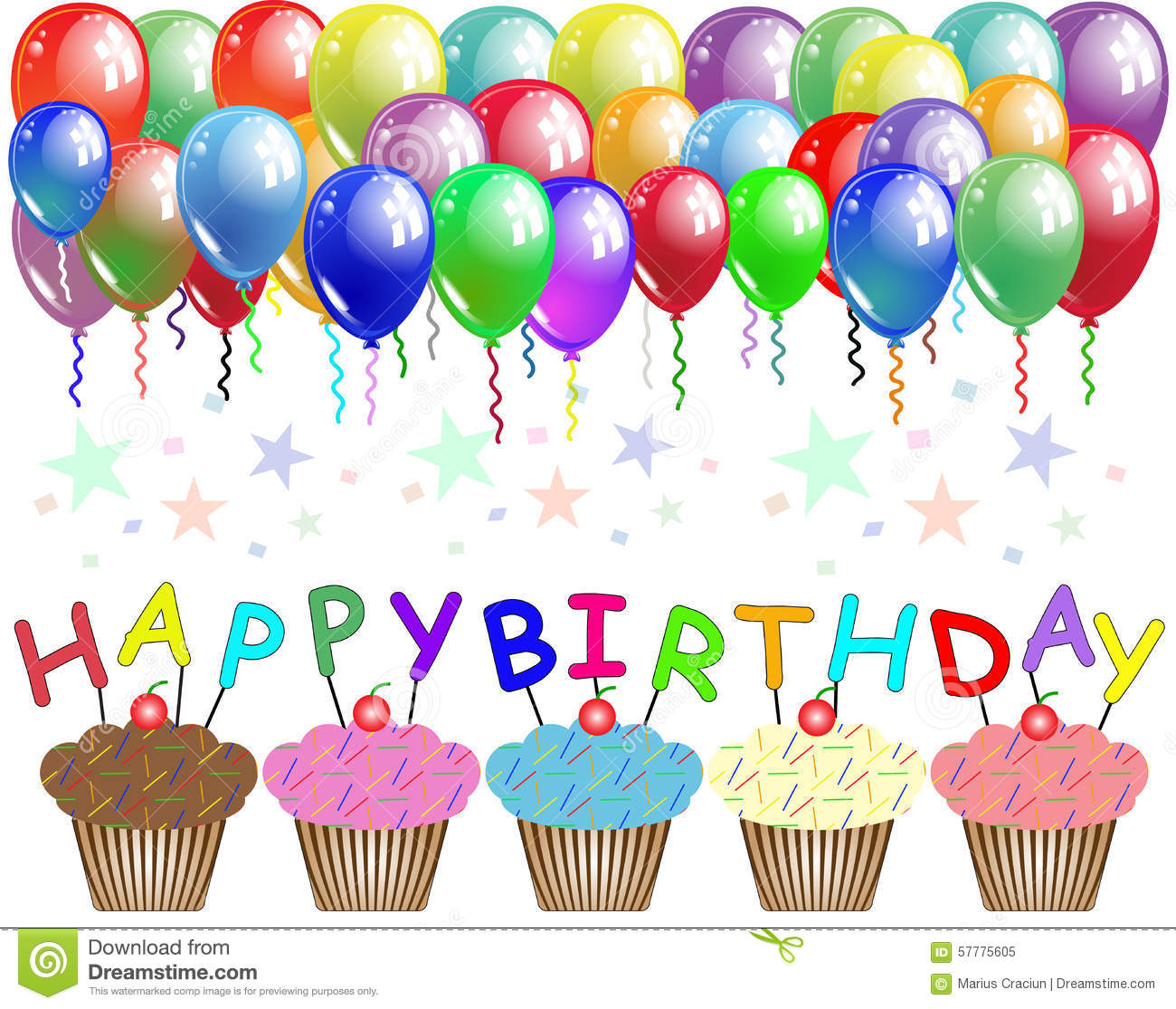 happy birthday poster stock illustration illustration of happiness