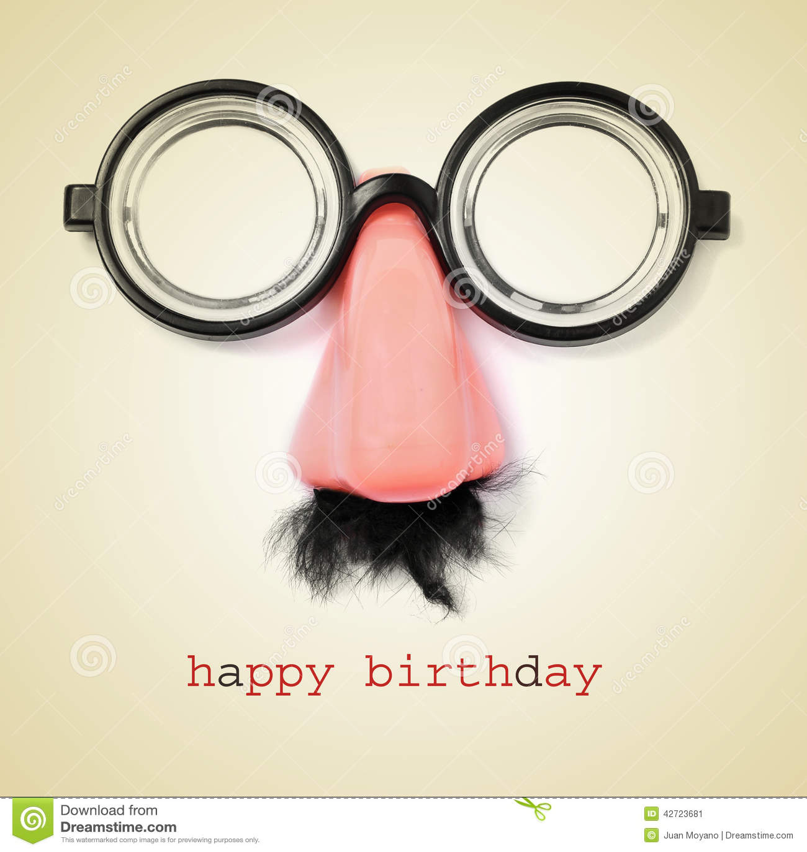 Retro happy birthday vector happy birthday vintage card with - Happy Birthday Stock Photo Image 42723681