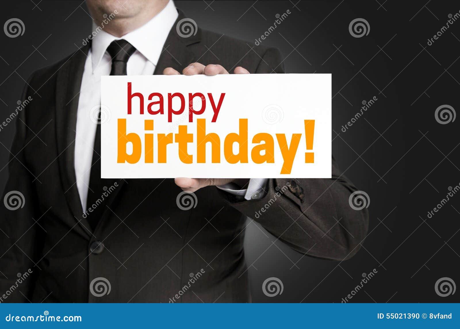 Поздравление с днем рождения коммерсанту