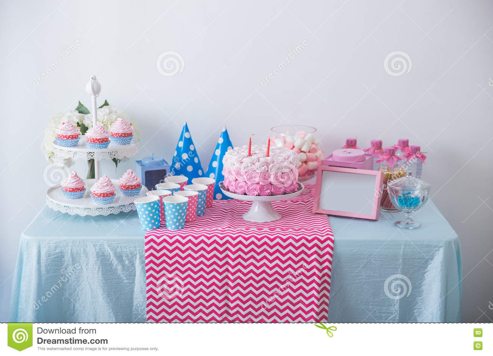 Happy Birthday Sweet Corner Stock Image Image Of Dessert