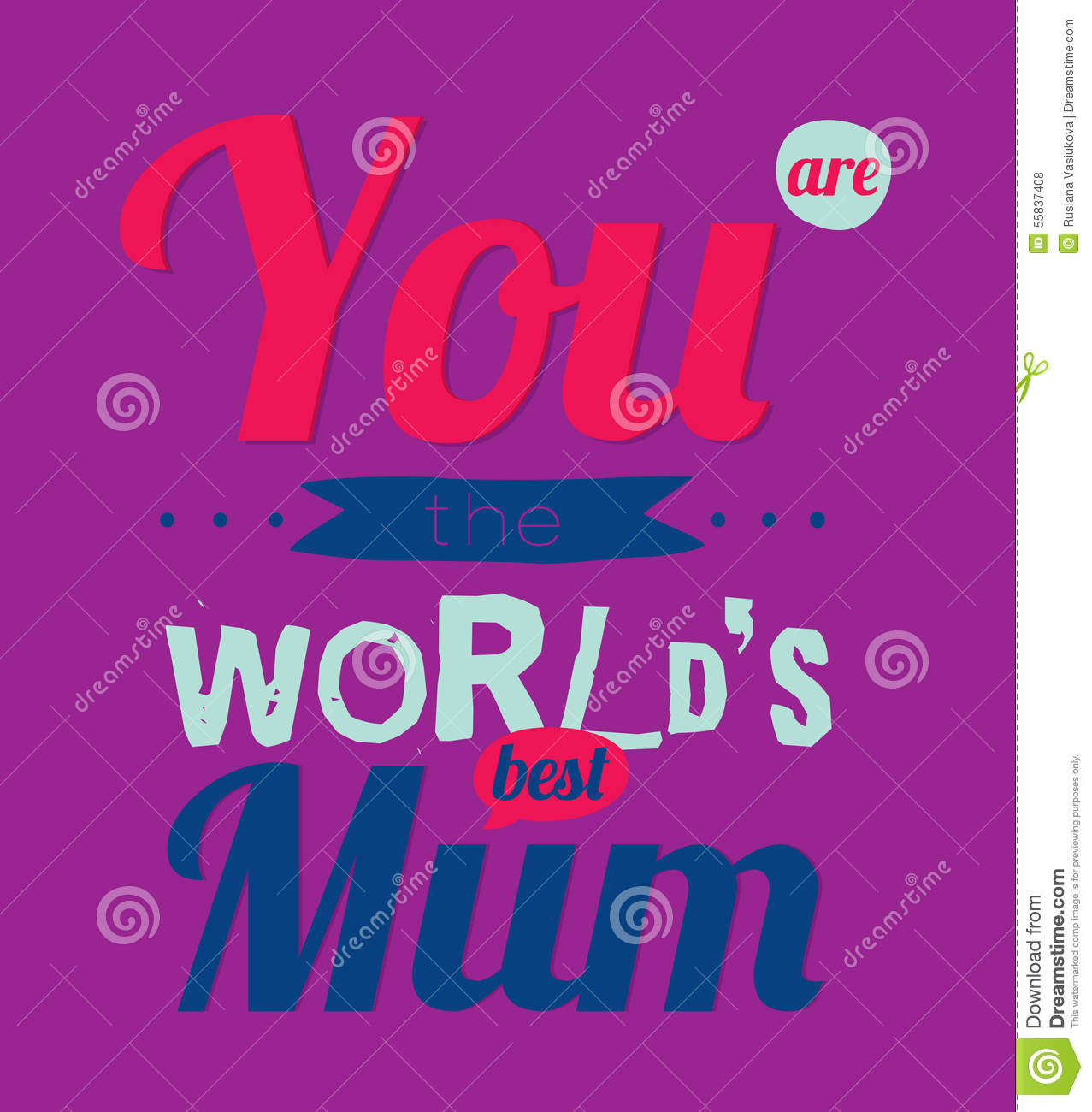 B day poster designs - Happy Birthday To Best Mother Royalty Free Stock Photos