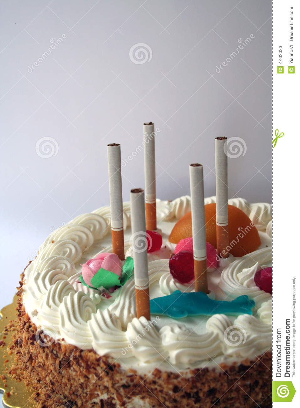 Happy Birthday To You Stock Image Image Of Cigarette