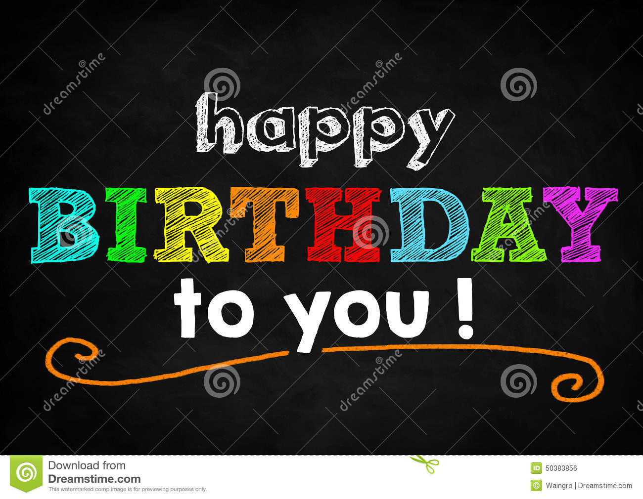 Happy Birthday Stock Photo Image Of