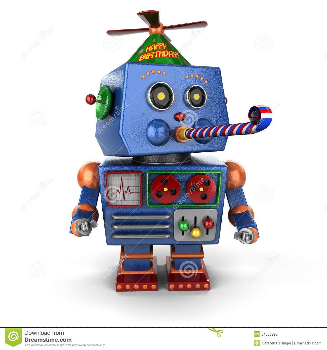 Toy Robot Clipart