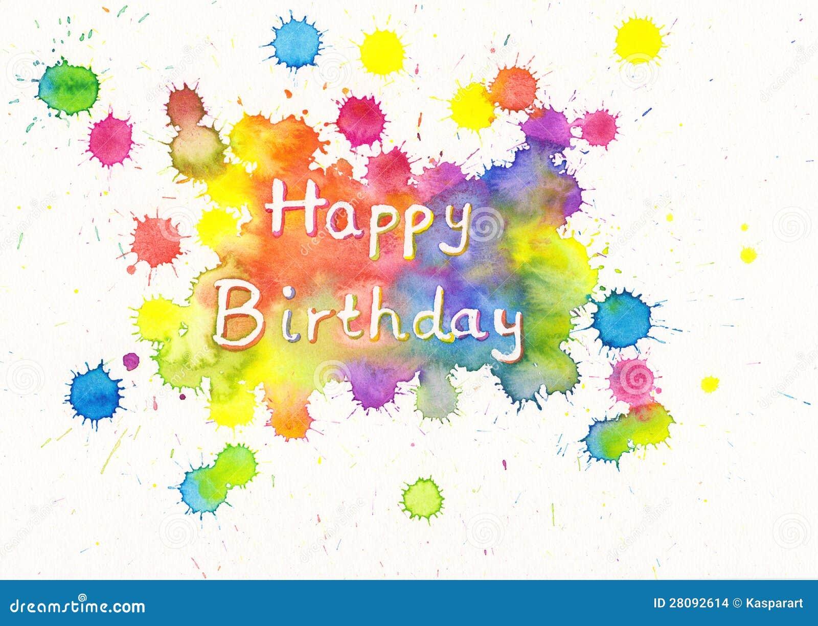 С днем рождения открытка для художника