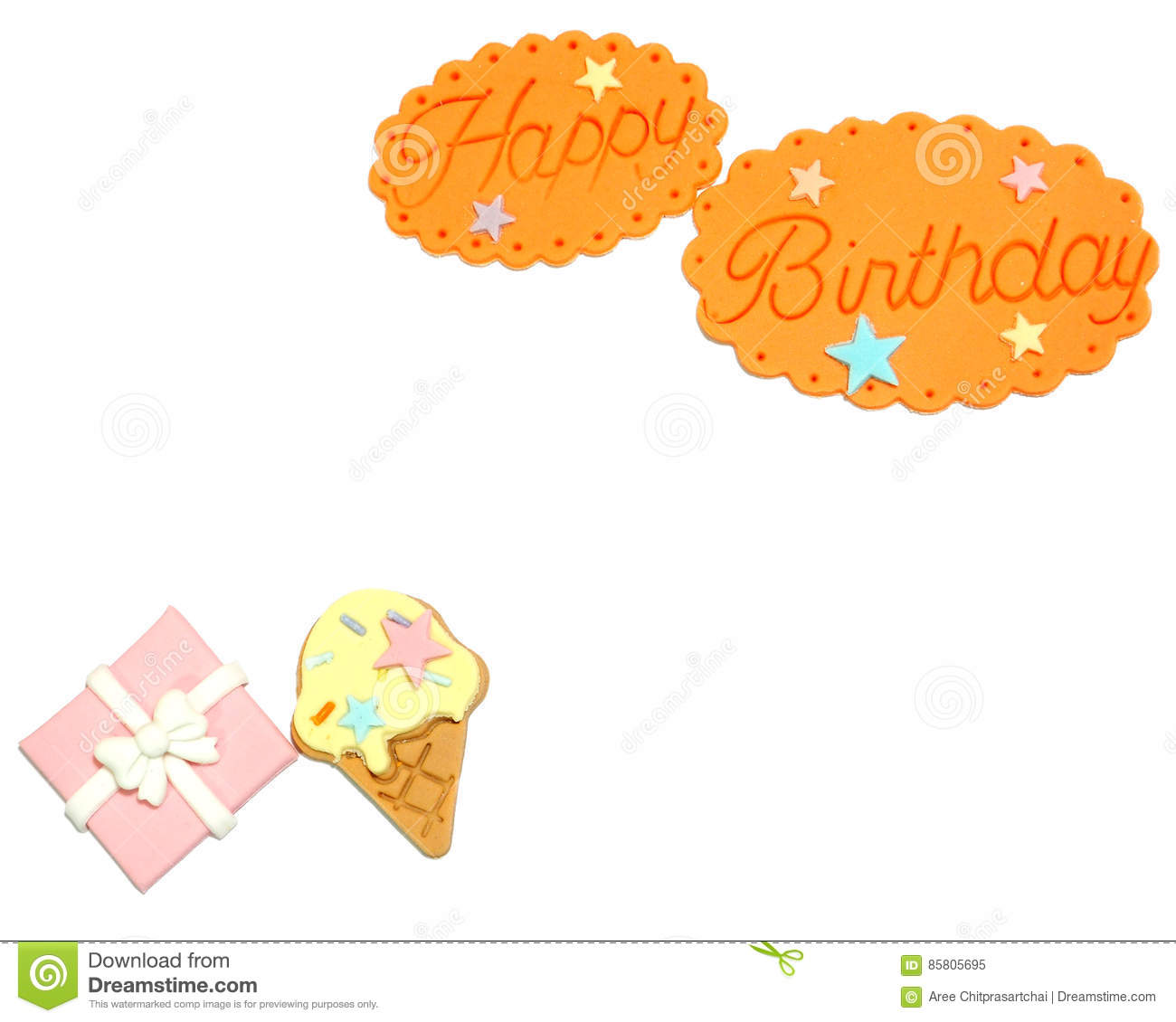 Happy birthday on white background,