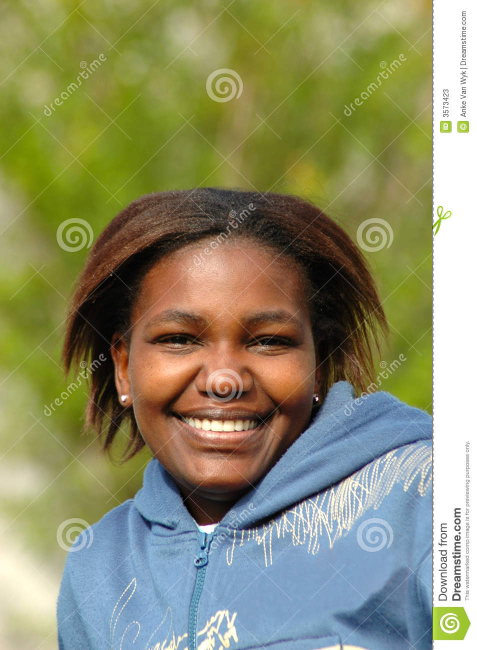 Happy Black Girl Stock Photos Image 3573423