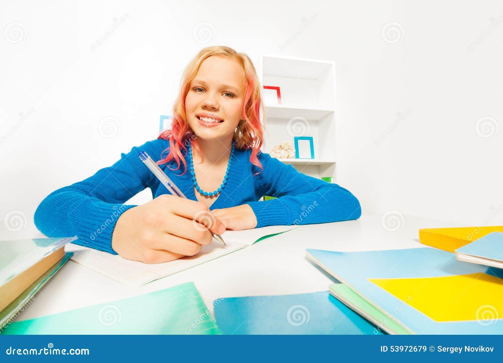 Do homework at school