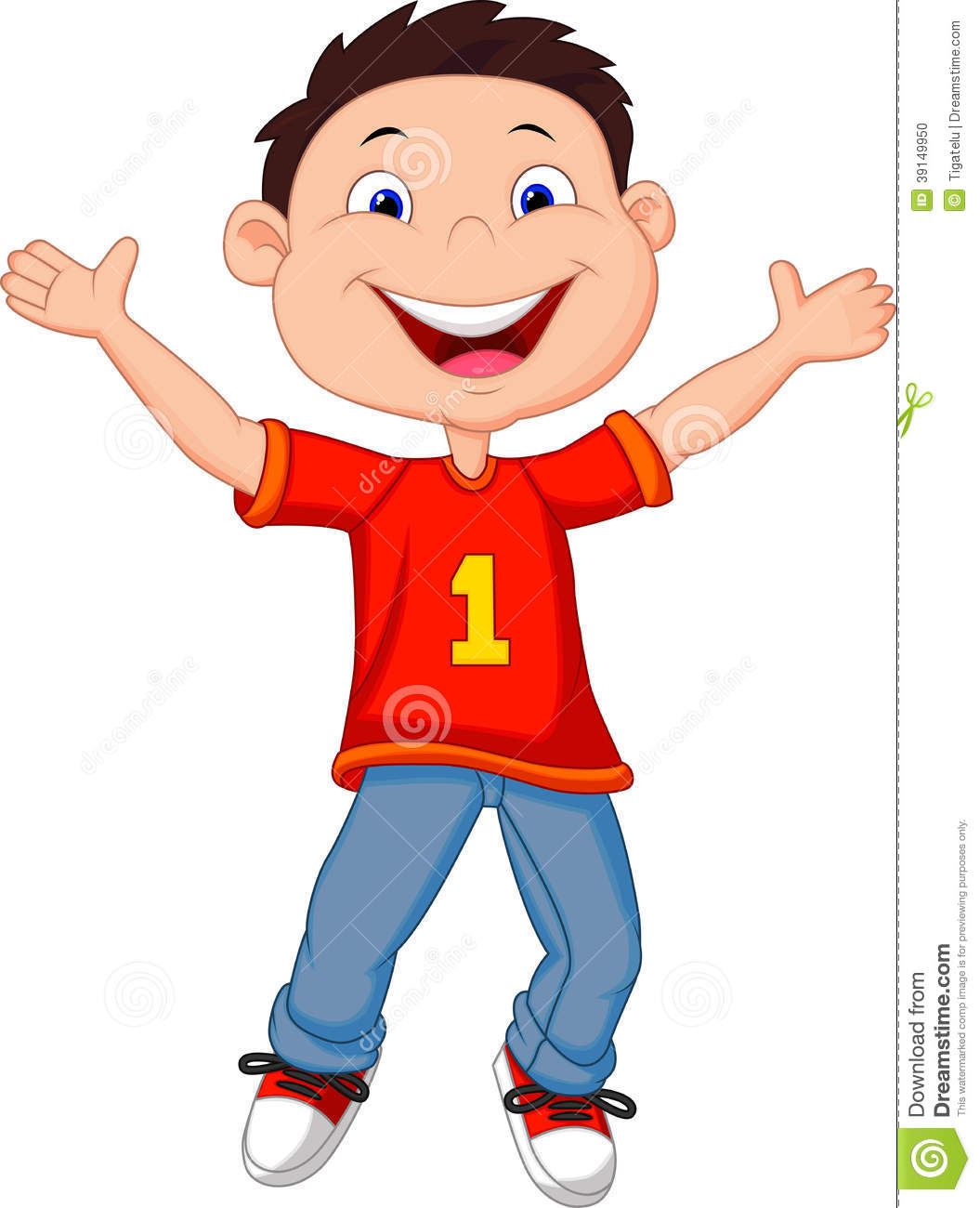 Boy Going To School Walking And Waving Back To Clipart