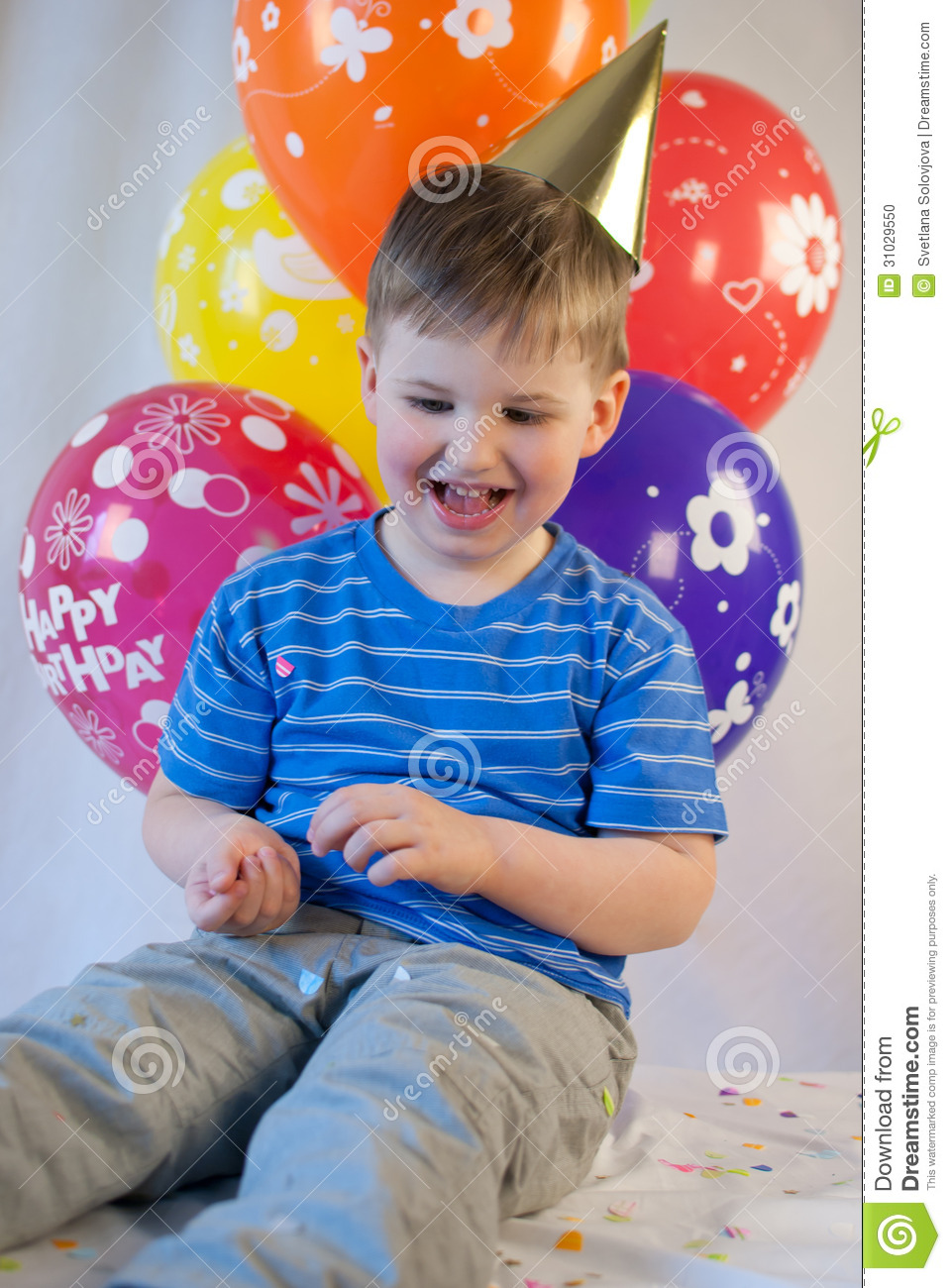 Happy Birthday Year Old Boy