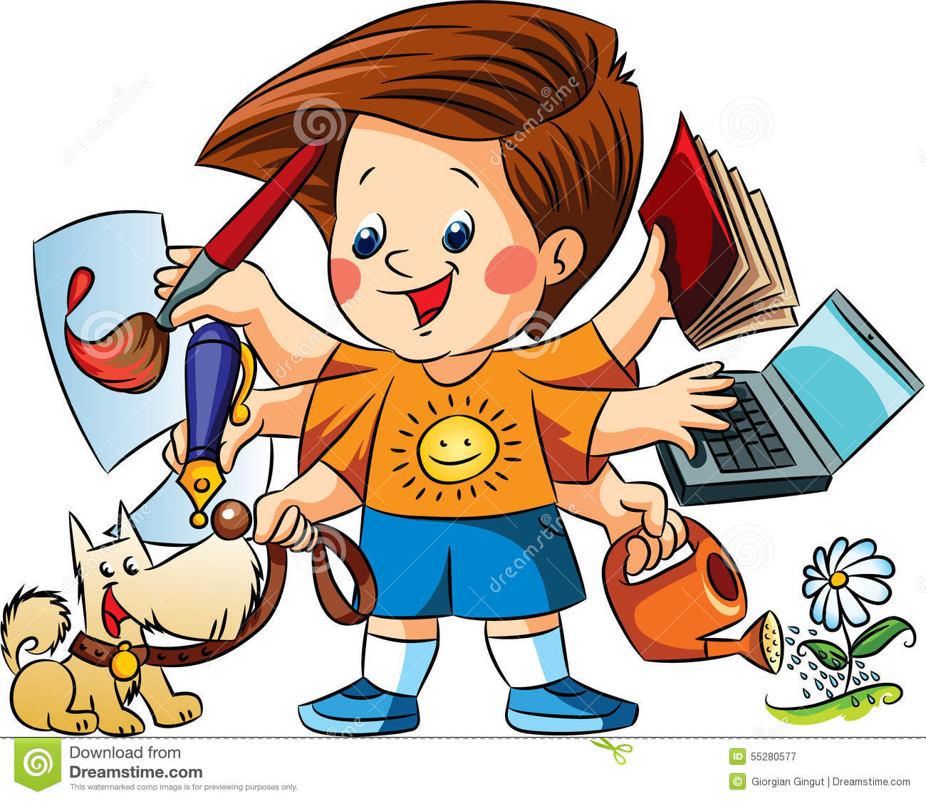 happy boy occupations stock vector image 55280577 knight clipart for kids knight clipart free