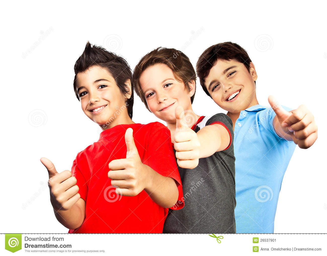 Happy Boys Teenagers Best Friends Fun Stock Image Image
