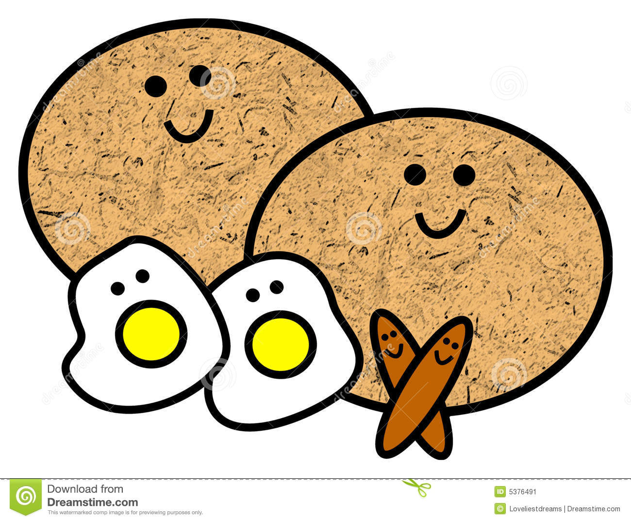 Breakfast Clipart - Vi...