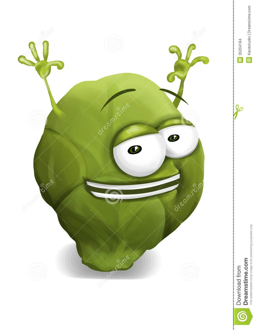cartoon brussel sprouts MEMES