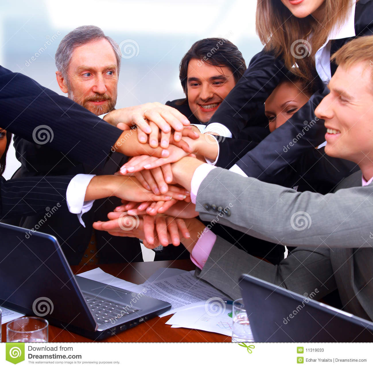 Happy business people stock photos image 11319033
