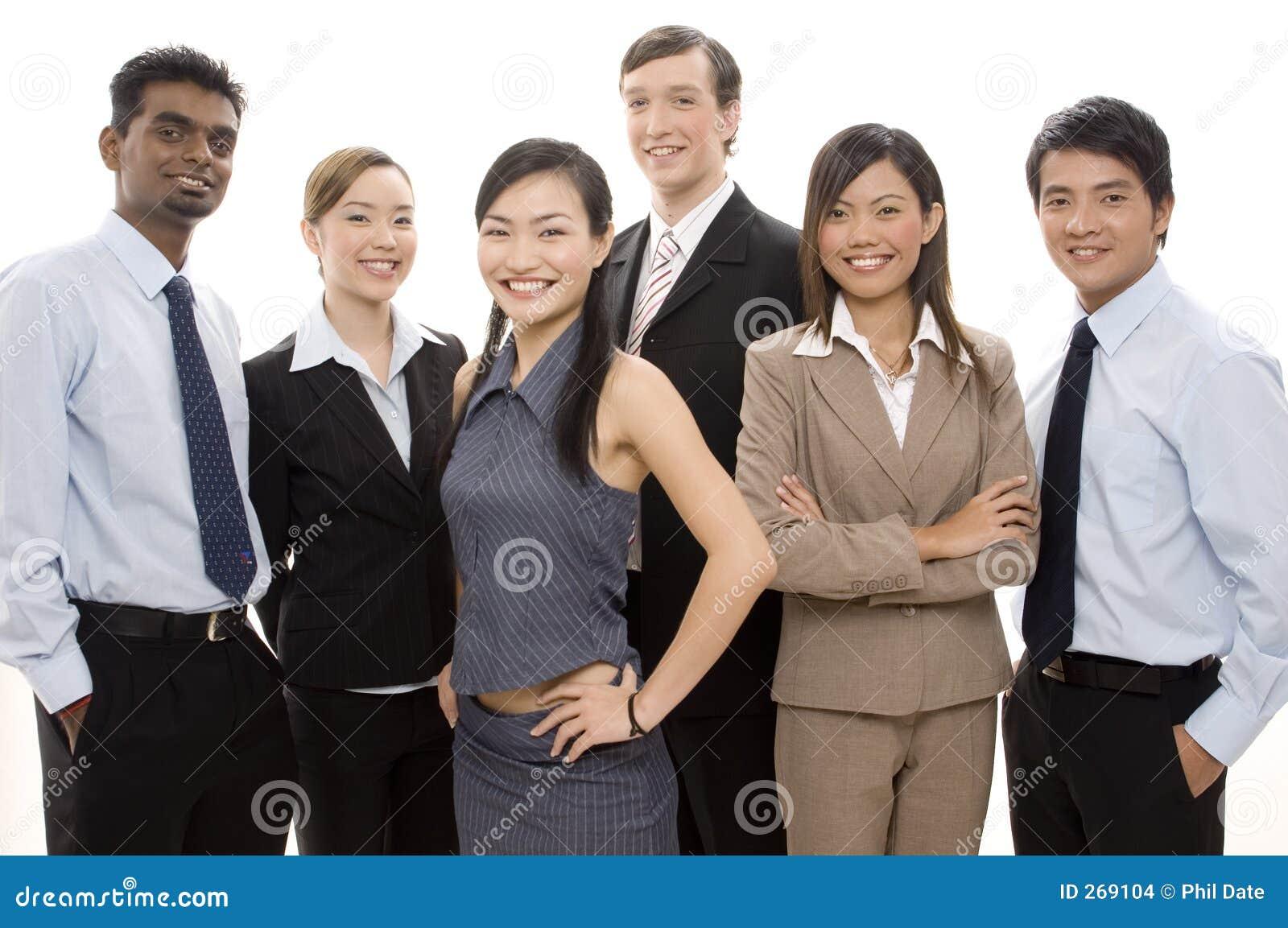 Happy Business Team 3
