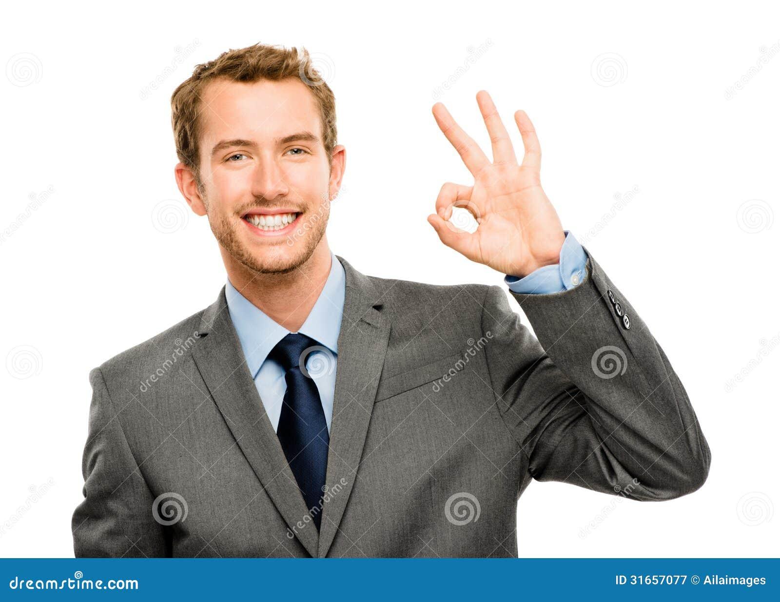 happy-businessman-okay-sign-white-backgr