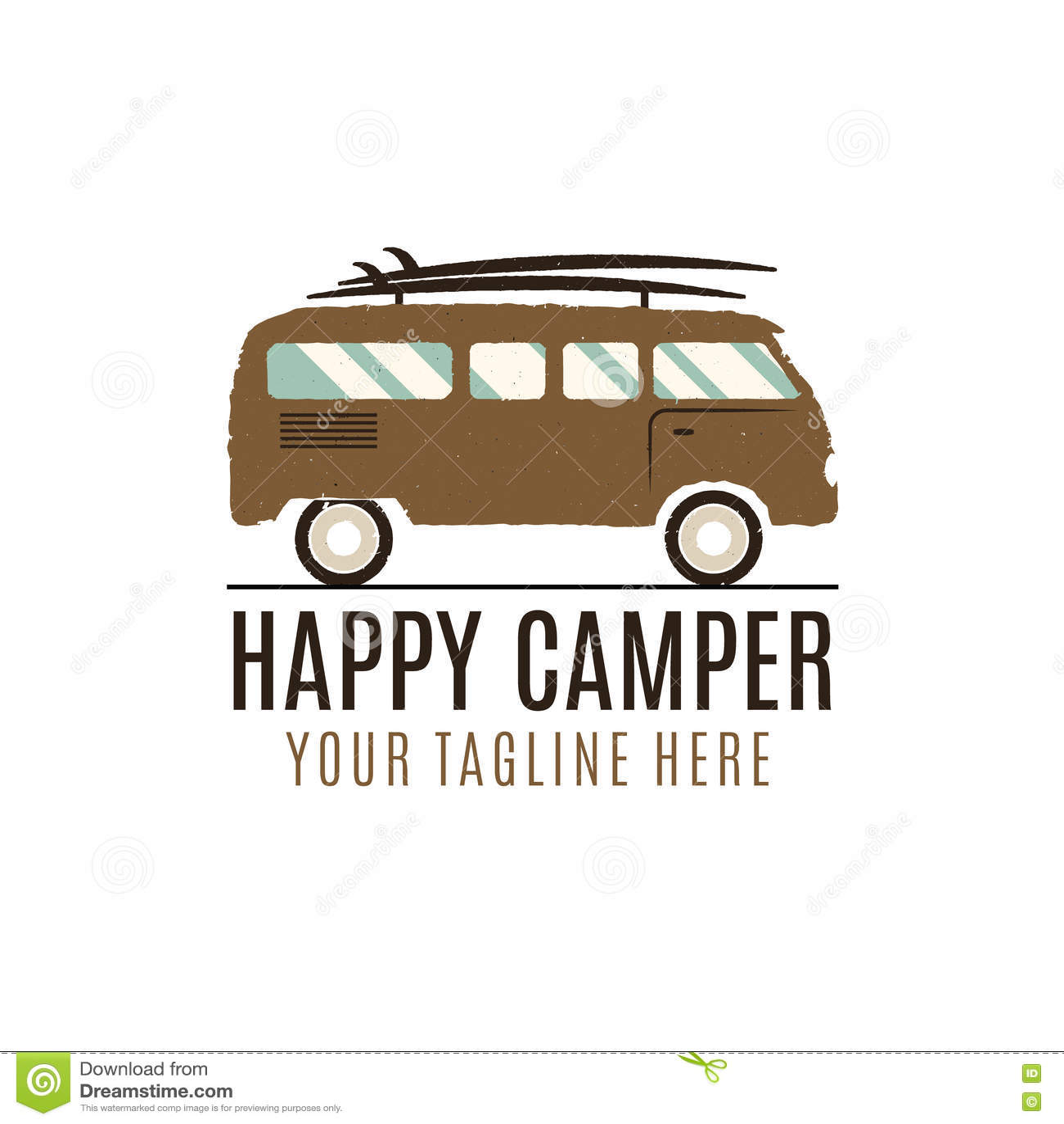Camper Stock Illustrations 4716 Camper Stock Illustrations