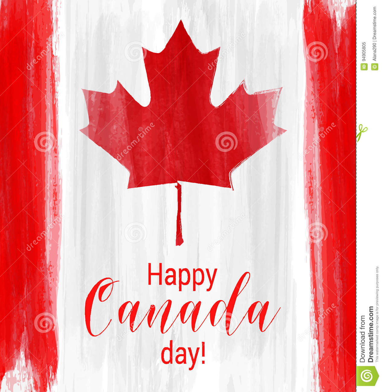 happy canada day background vector illustration 73047510. Black Bedroom Furniture Sets. Home Design Ideas