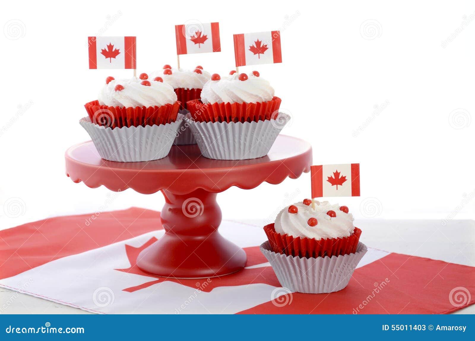 Red And White Anniversary Cake