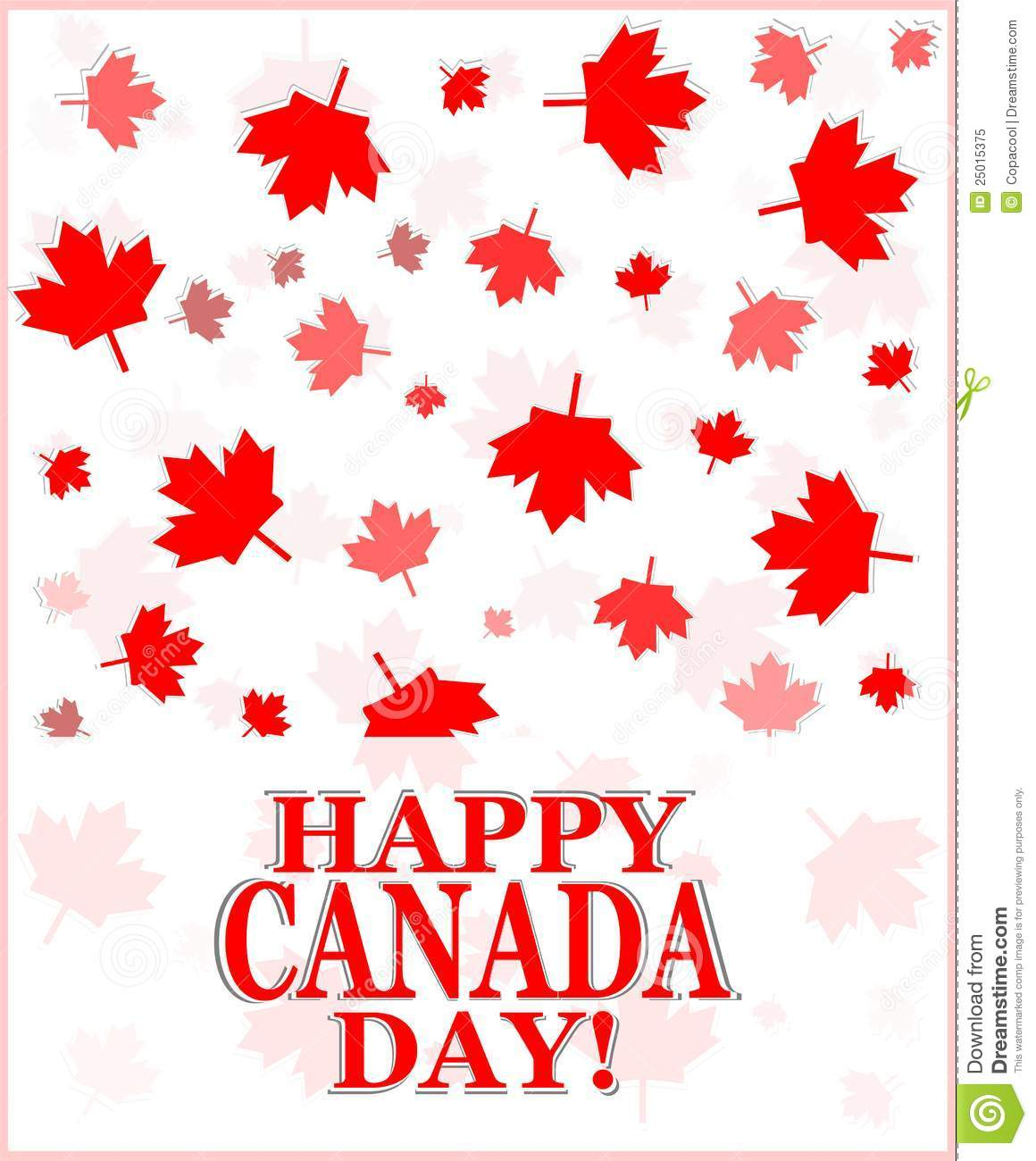 Happy canada day greetings card stock vector illustration of first happy canada day greetings card m4hsunfo