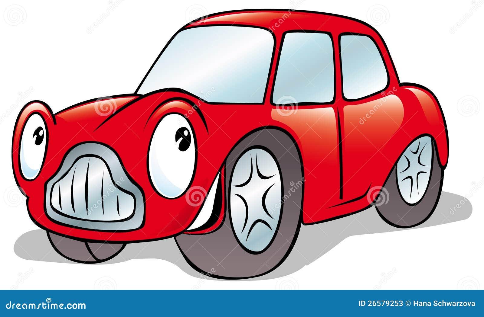 funny car cartoon stock vector illustration of line 22819673