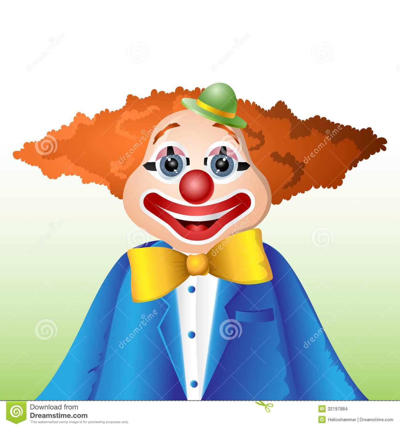 happy cartoon clown stock images image 32197884
