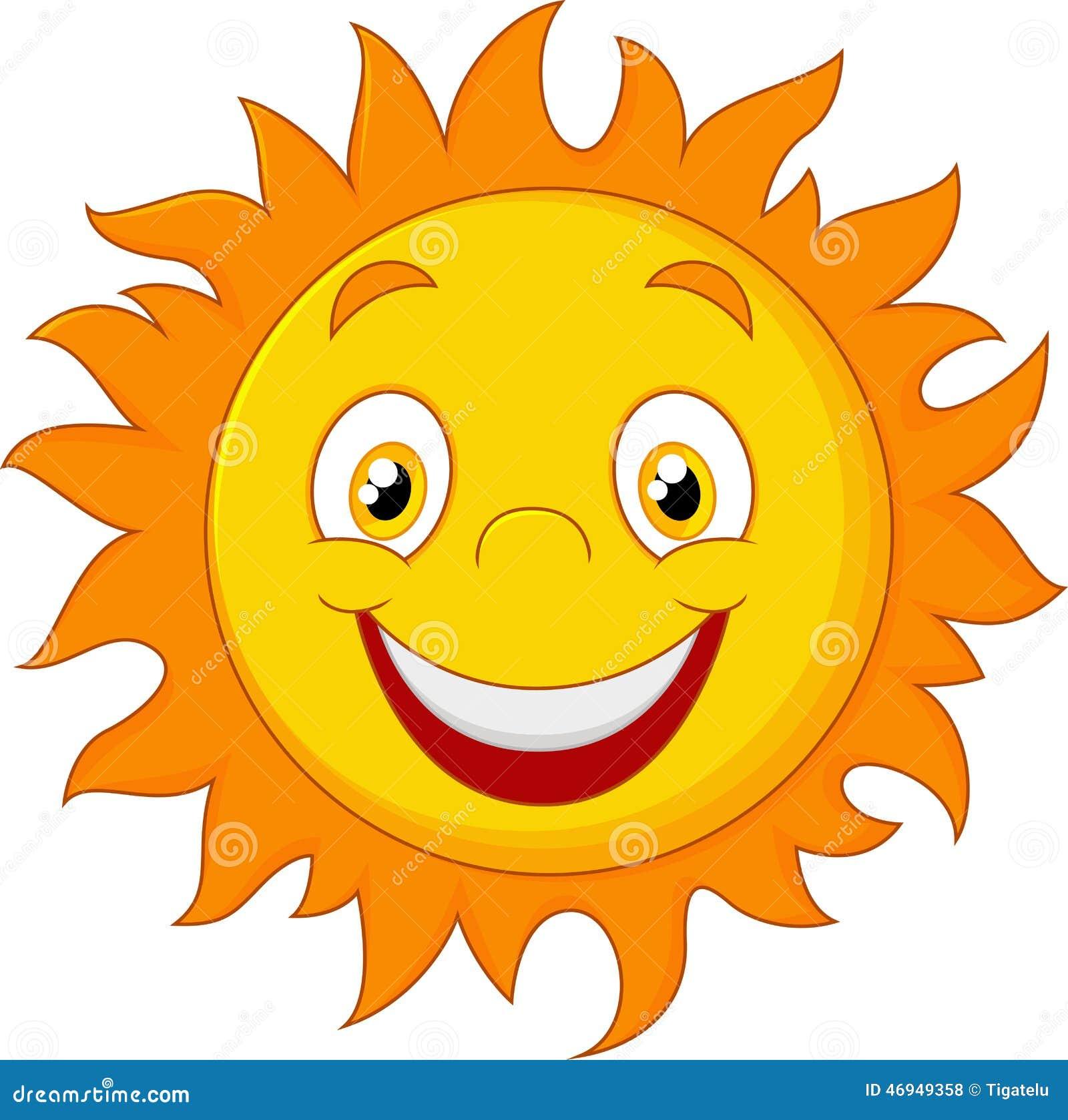 happy cartoon sun stock vector illustration of glow 46949358 rh dreamstime com cartoon pictures of the sunshine cartoon pictures of the sun