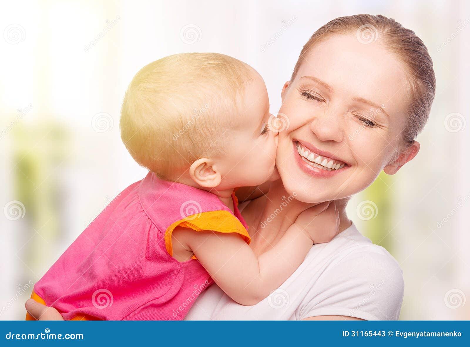 pdf of mom kissing child