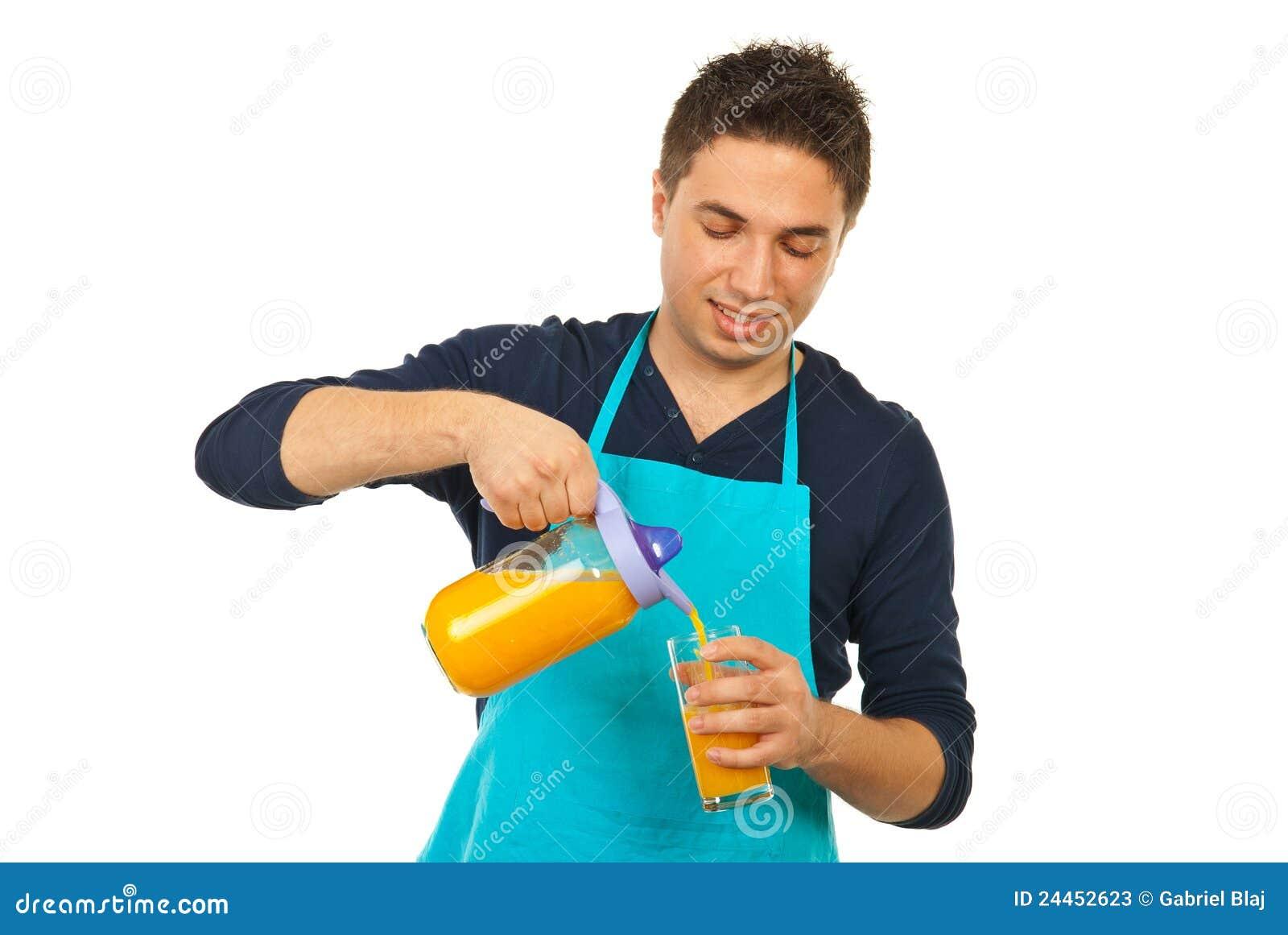happy-chef-man-pouring-orange-juice-2445