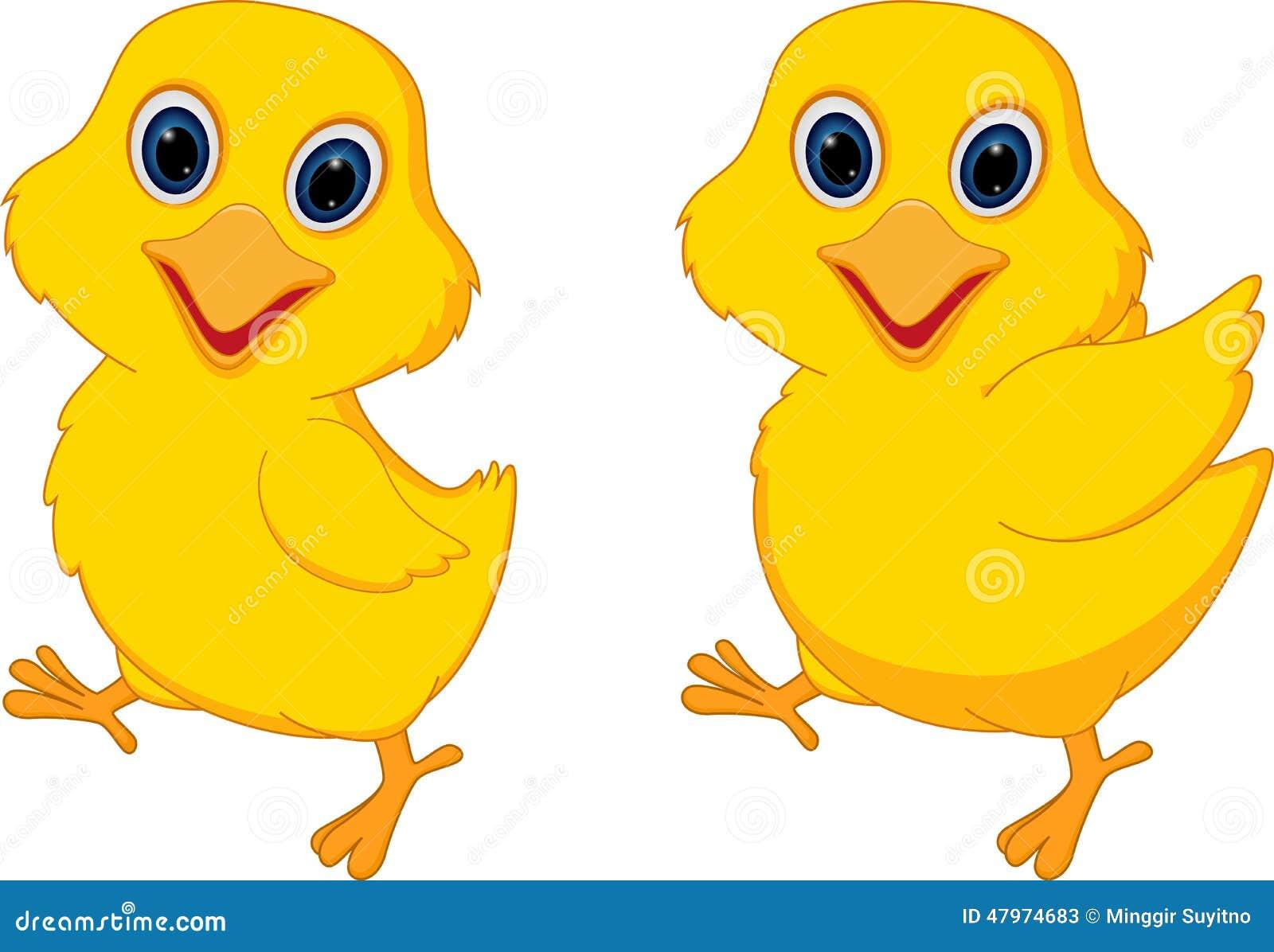 Happy chick cartoon stock vector  Illustration of chick - 47974683