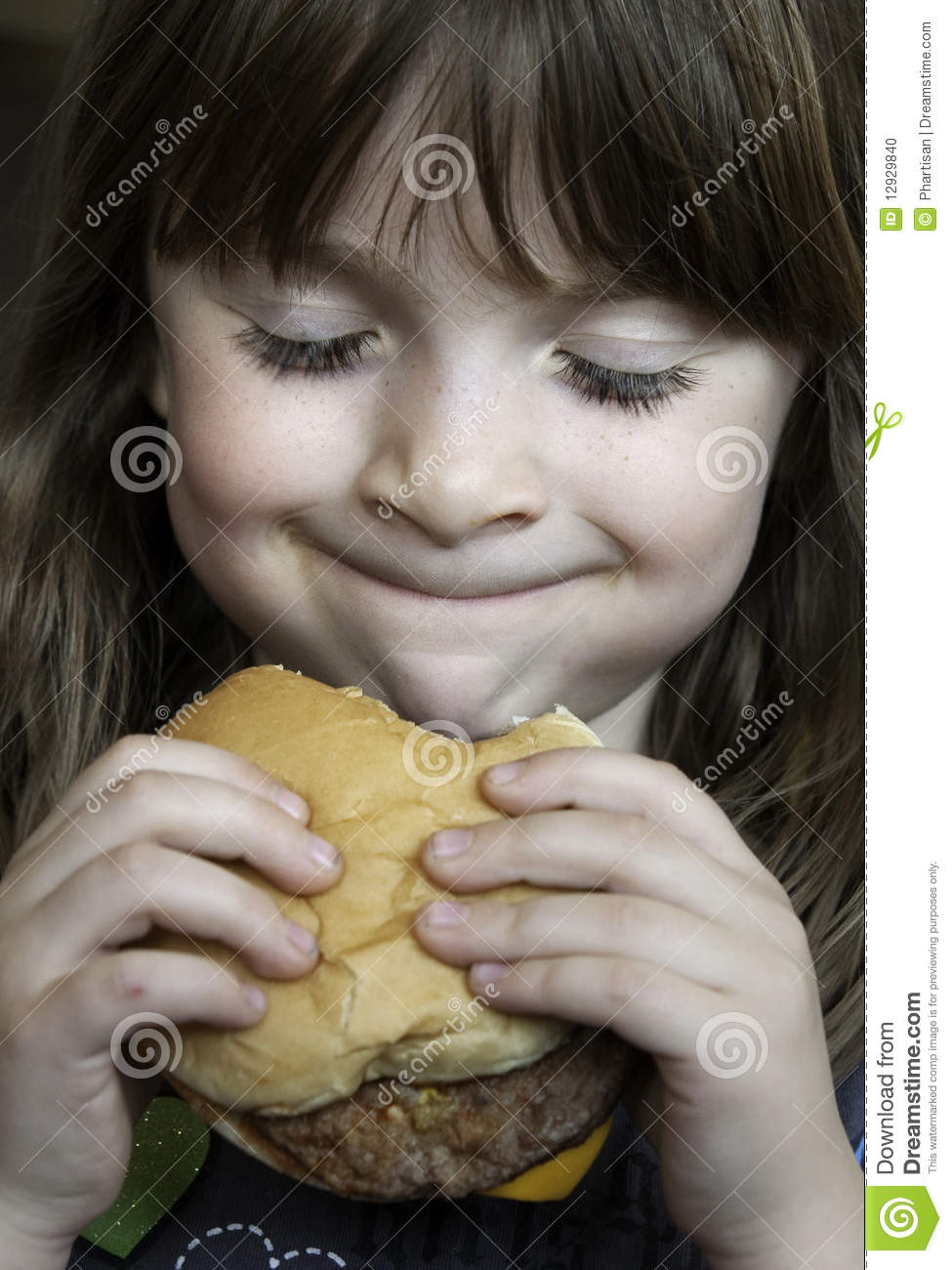 Child Eating Food Images