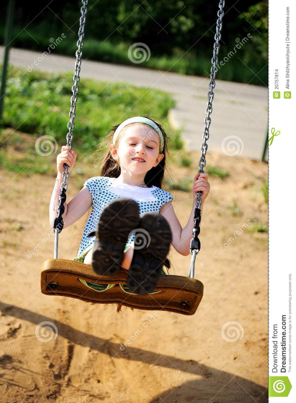Join. happens. swinging at the playground sense
