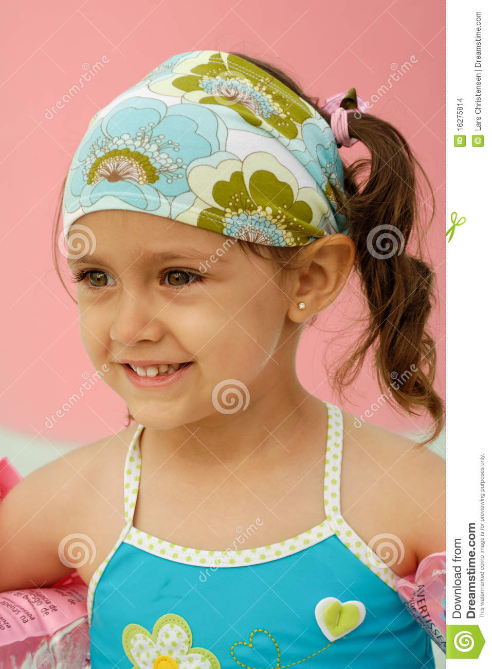 Happy Child In Pool Stock Images Image 16275814