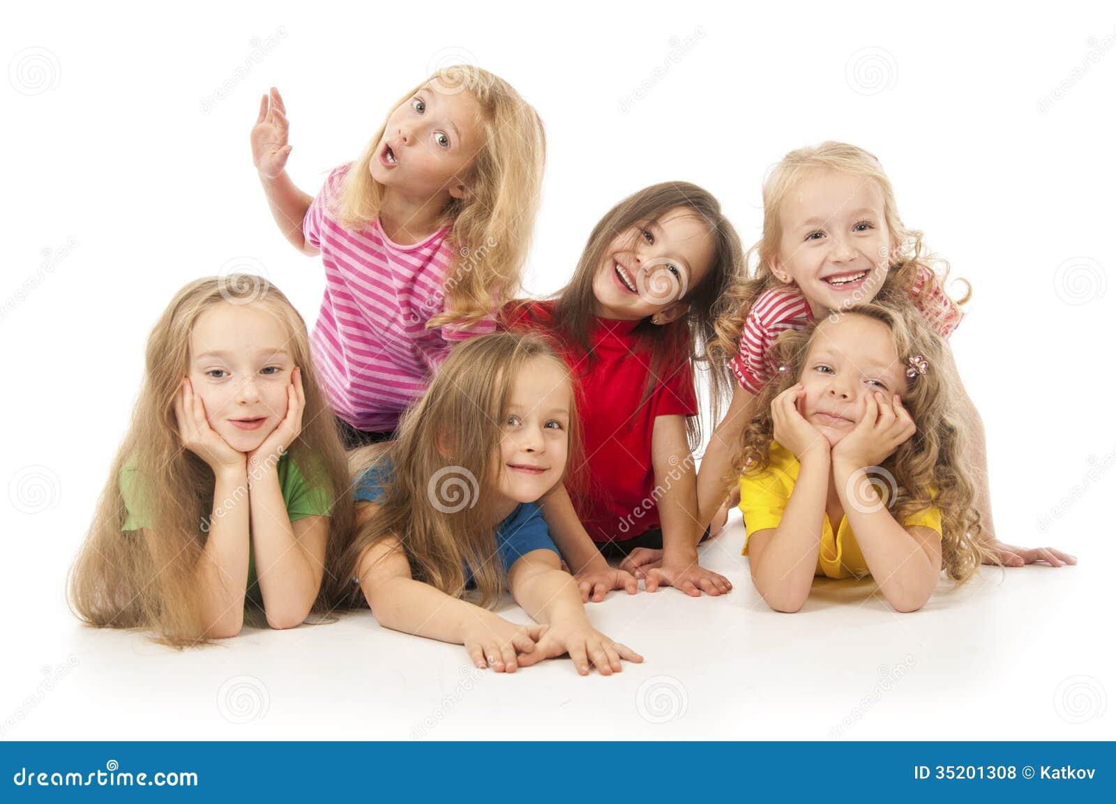 Happy Children Royalty Free Stock Photos - Image: 35201308