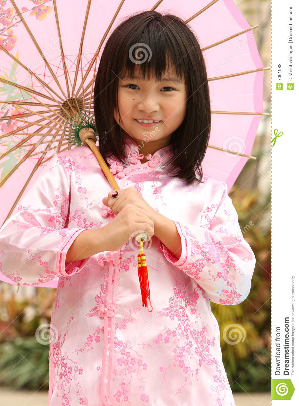 Happy Chinese Child Stock Photo Image Of Girl Face