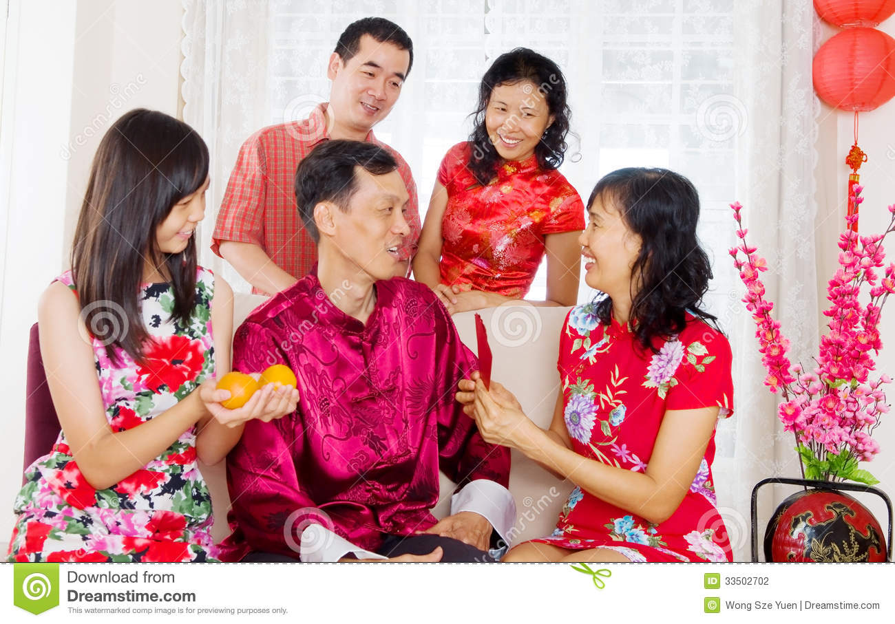 Chinese new year stock image. Image of children, festival ...