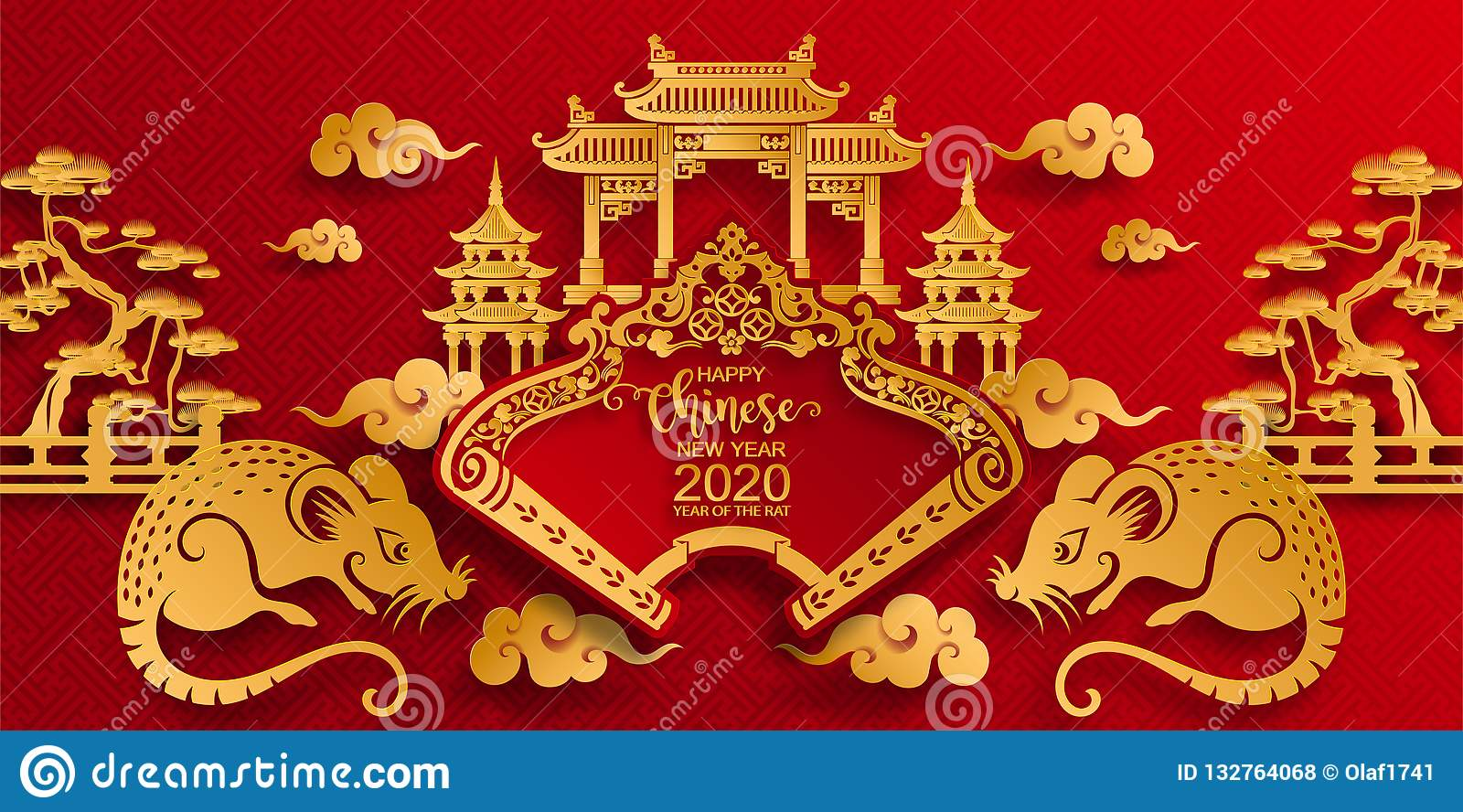 chinese new year calligraphy mean dragon stock photography